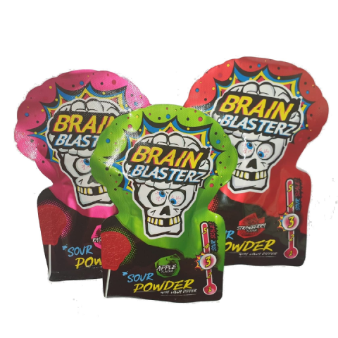 Sour Powder Sherbet Lolly Dipper Brain Blasterz - Candy Sweets Bon Bon Buddies 10g